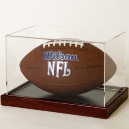 American Football Display Case