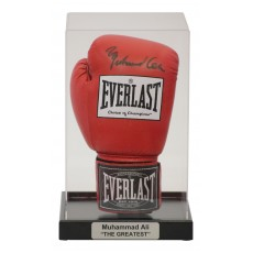 Acrylic Portrait Boxing Glove Display Case